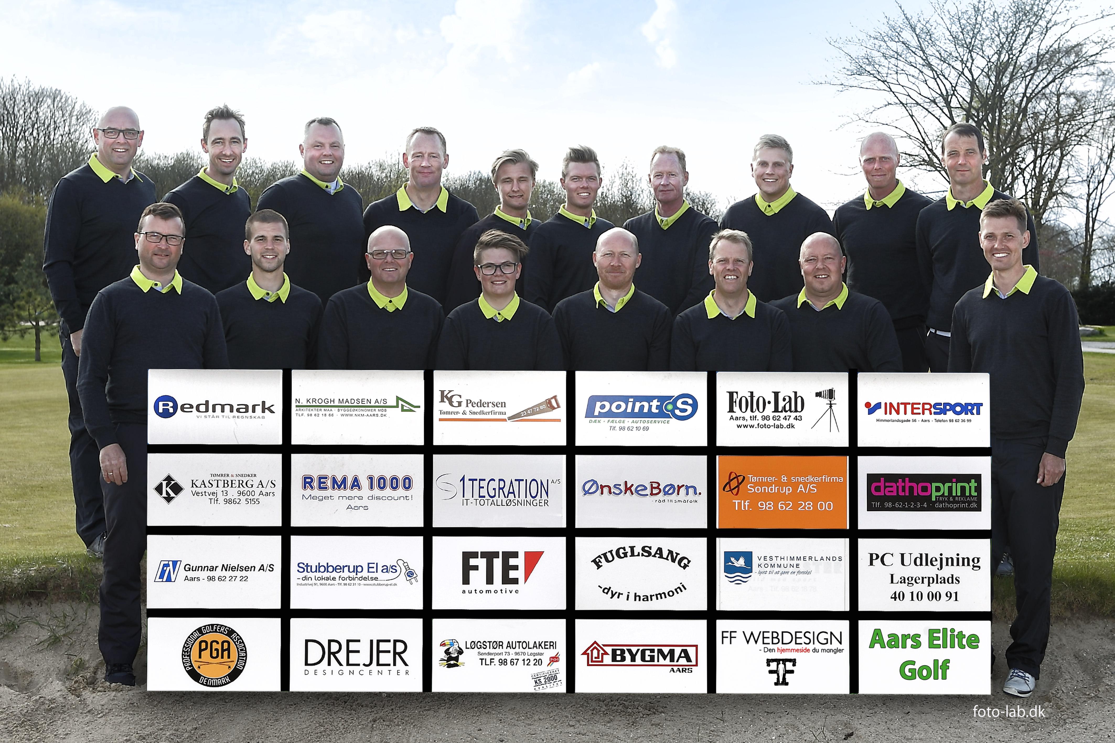 9eac41112c1a Aars Golfklubs Elitehold består af 20 spillere og har tilmeldt to hold til  kvalifikationsrækken til Danmarksturneringen.